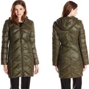 Lightweight Down Long Winter Coat